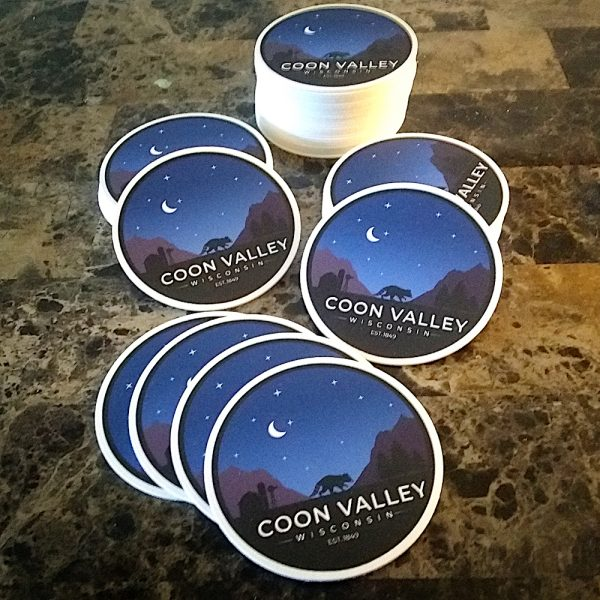 Coon Valley Coasters For Bars, Restaurants, Mancaves & More