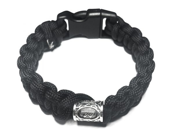 RAIDO JOURNEY RUNE PARACORD BRACELET BLACK